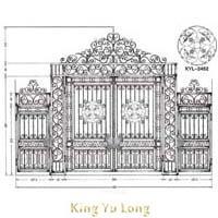 KYL-007A 鍛造大門