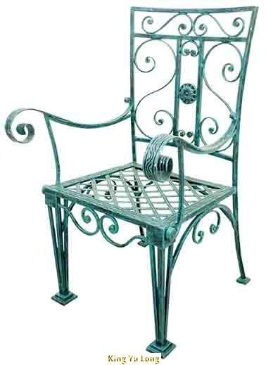 KYL-5103 太師庭院椅 (W600xH1045xL620mm)