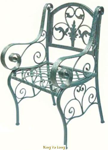 KYL-5104 單人鍛造公園椅 (W575xH860xL560mm)